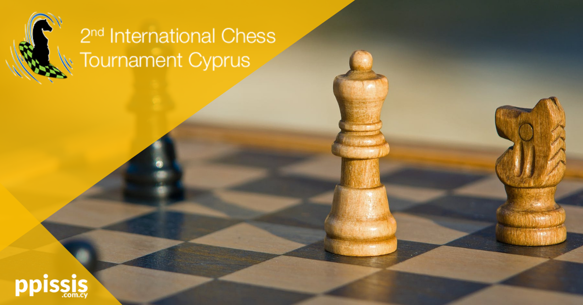 Το ppissis.com.cy για δεύτερη χρονιά χορηγός του Διεθνούς Σκακιστικού Τουρνουά | Λάρνακα 2020